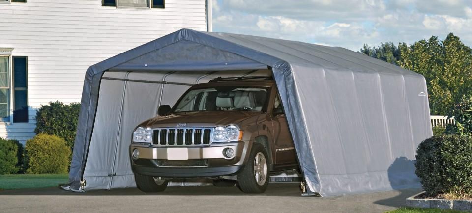 Portable Garage In A Box : Costco garages garage in a box portable info